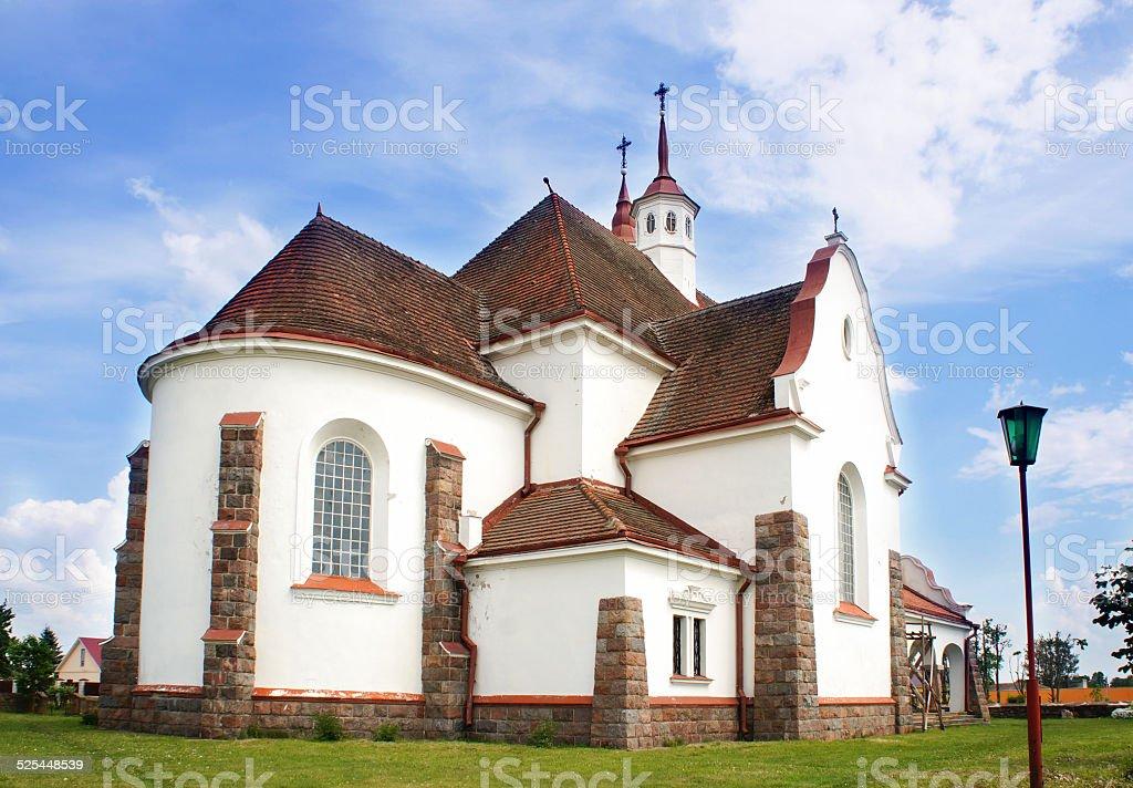 Roman Catholic Church of Our Lady Ruzhentsova, Soly, Belarus stock photo