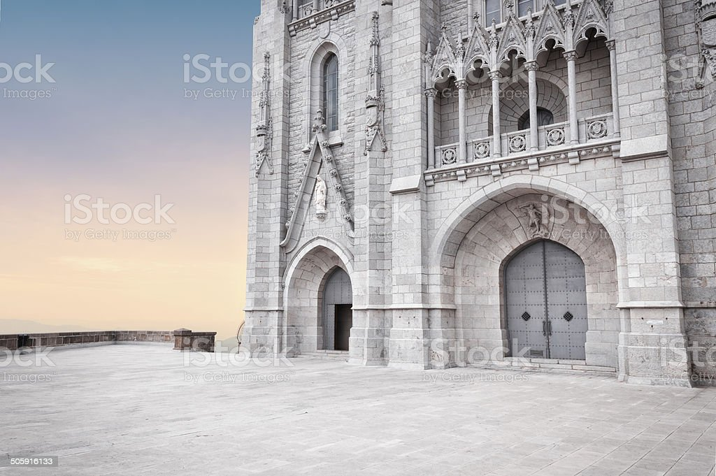 Roman catholic church royalty-free stock photo