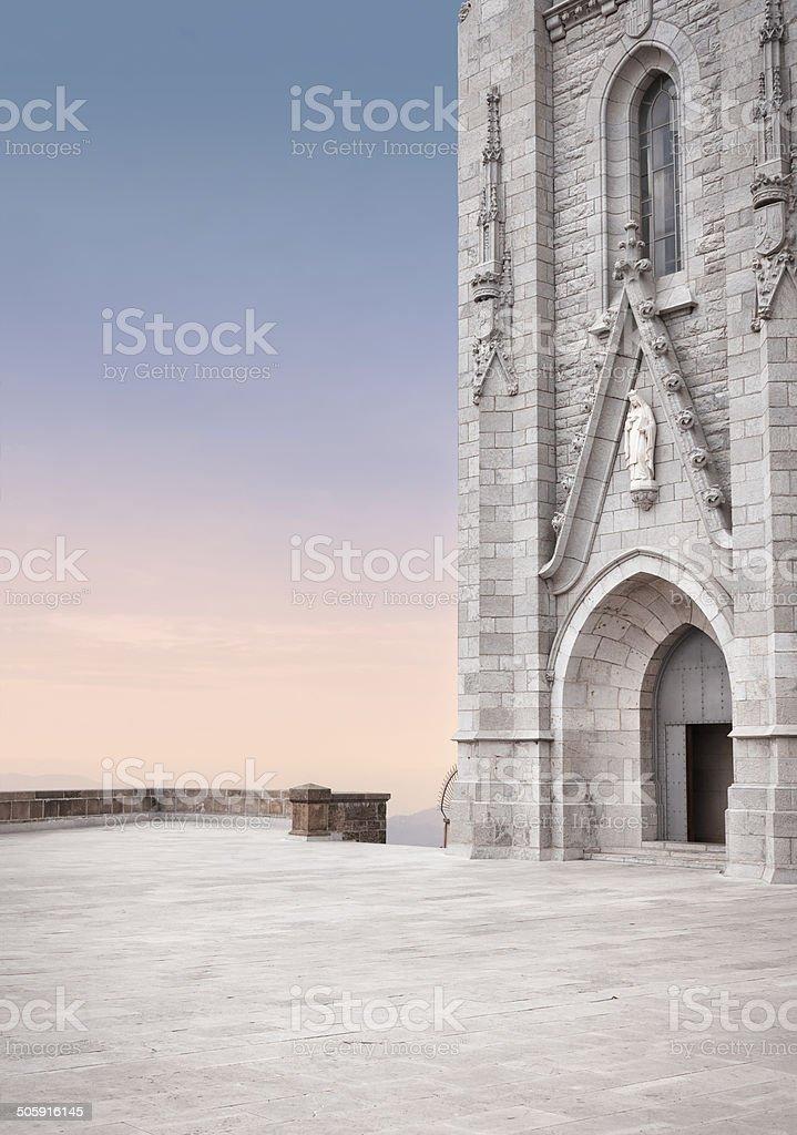 Roman catholic church royalty-free stock photo