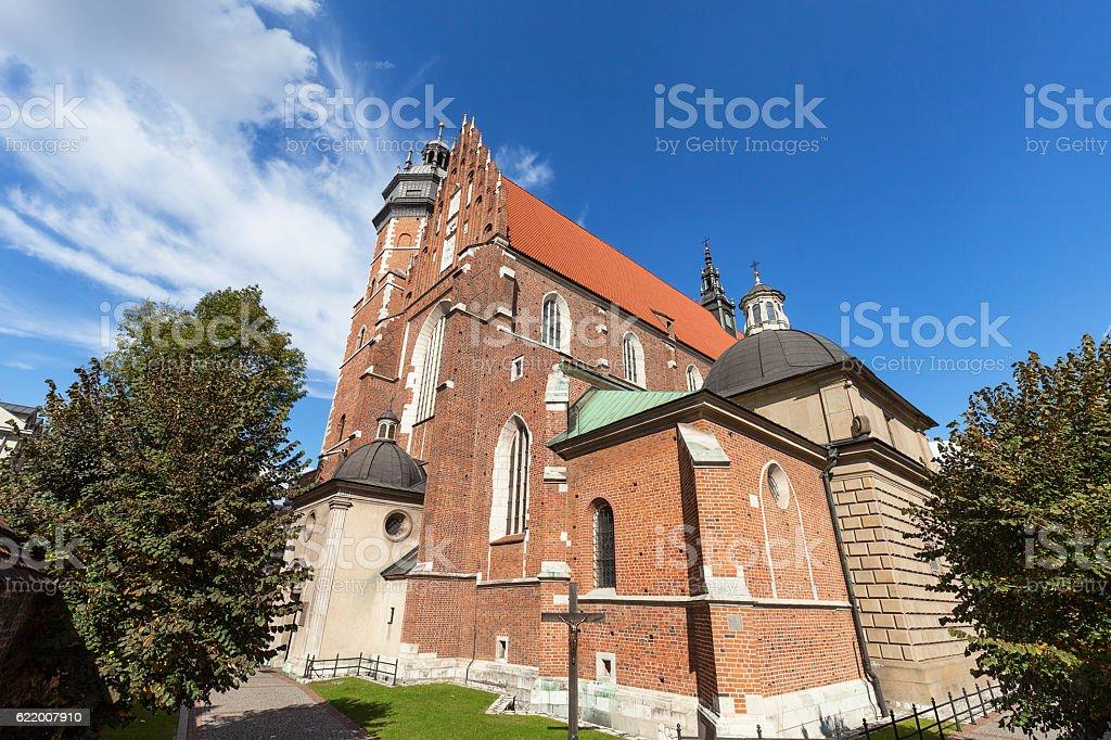 Roman catholic church,Corpus Christi Basilica, Krakow, Poland stock photo