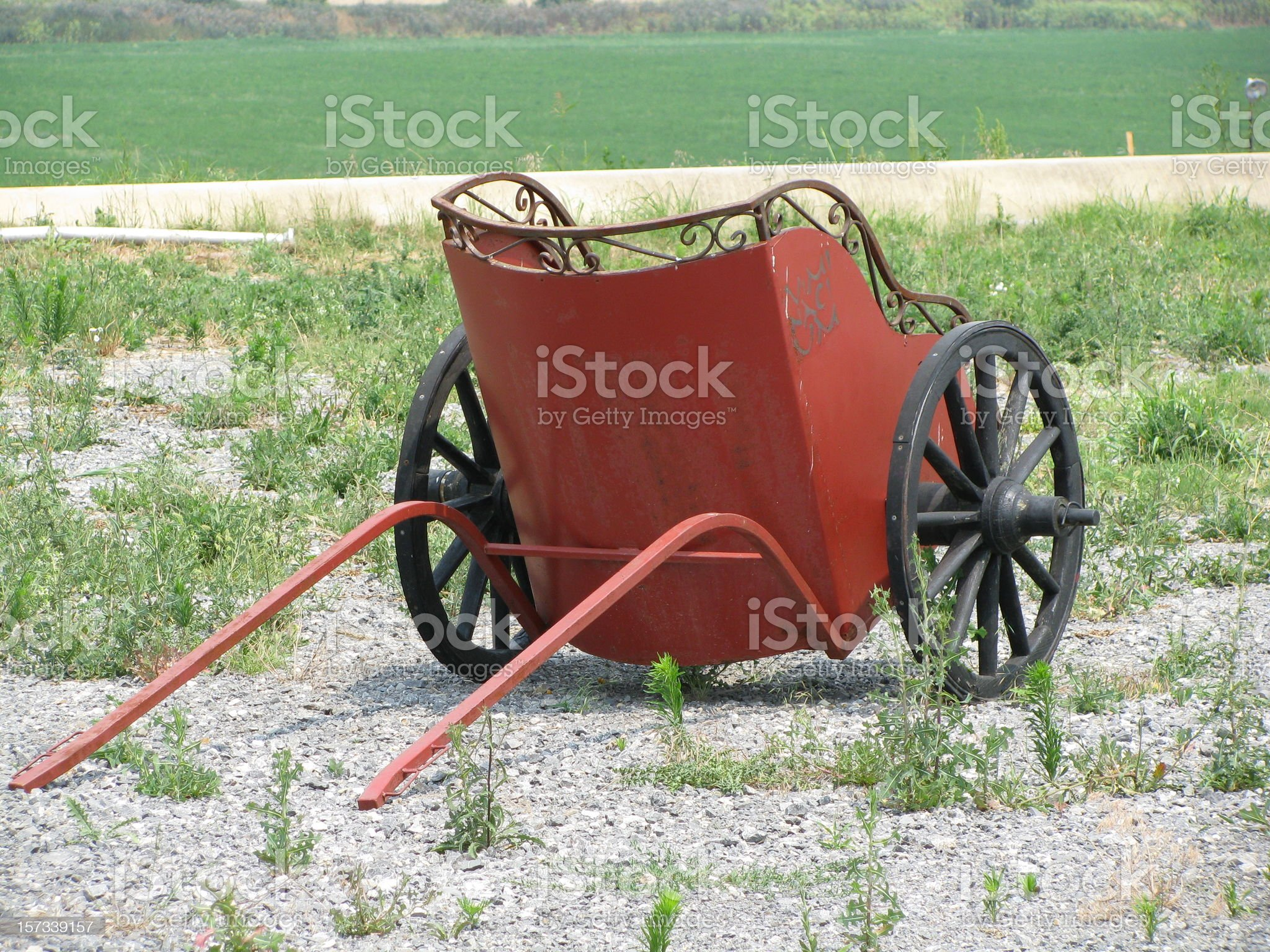 Roman chariot royalty-free stock photo