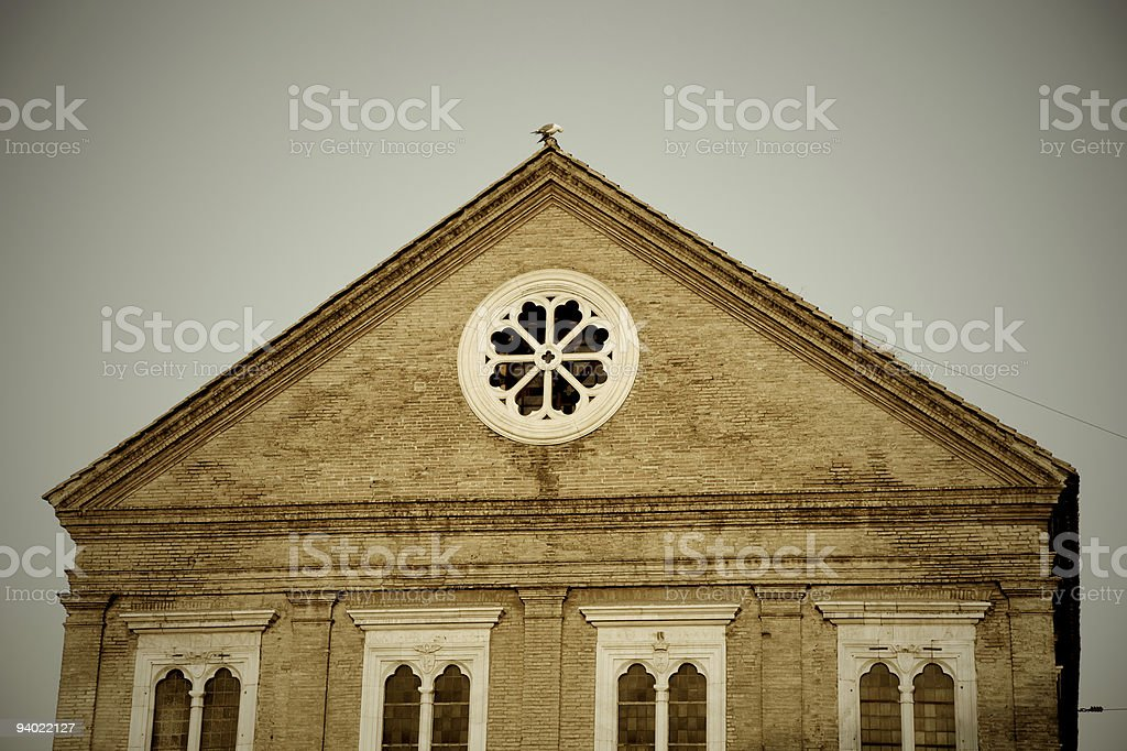 Roman church royalty-free stock photo