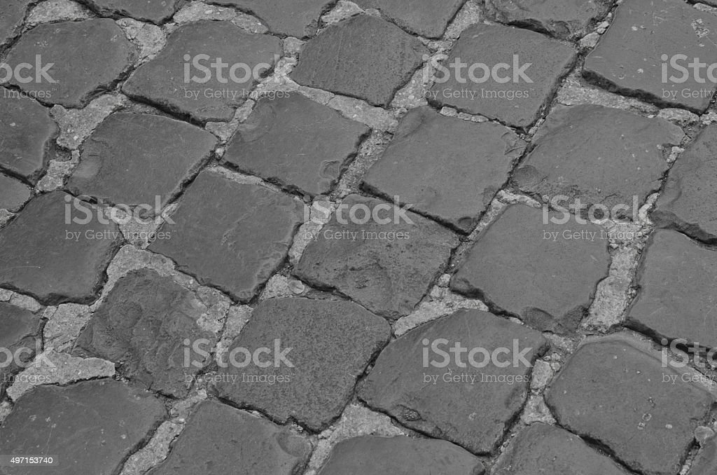 Roman Cobblestones stock photo