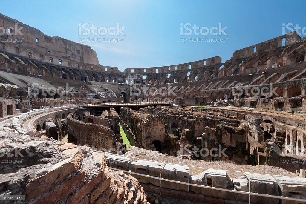 Römische Kolosseum Lizenzfreies stock-foto