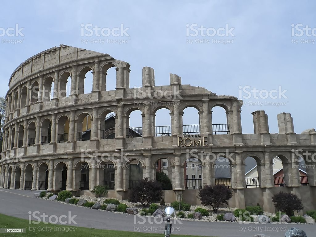 Roman Colosseum Gladiator Arena stock photo