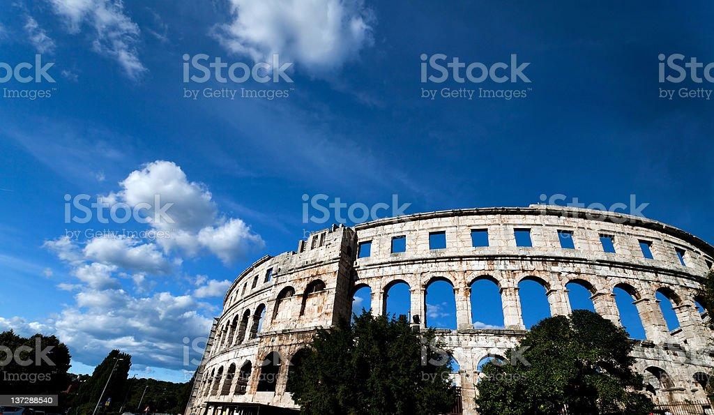 Roman Colosseum royalty-free stock photo