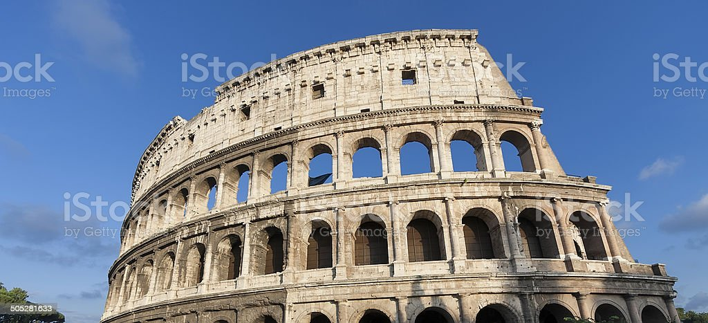 Römisches Kolosseum Lizenzfreies stock-foto