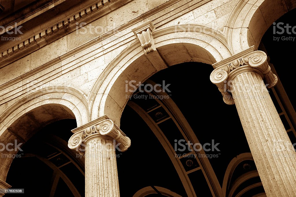 roman column royalty-free stock photo