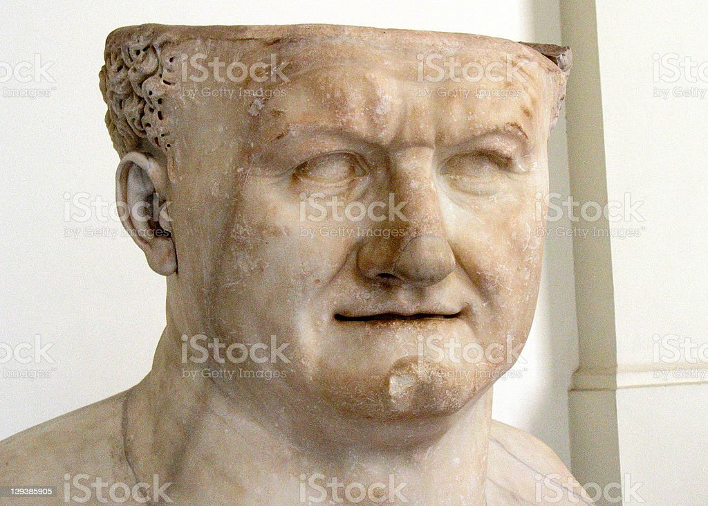 Roman Emperor royalty-free stock photo