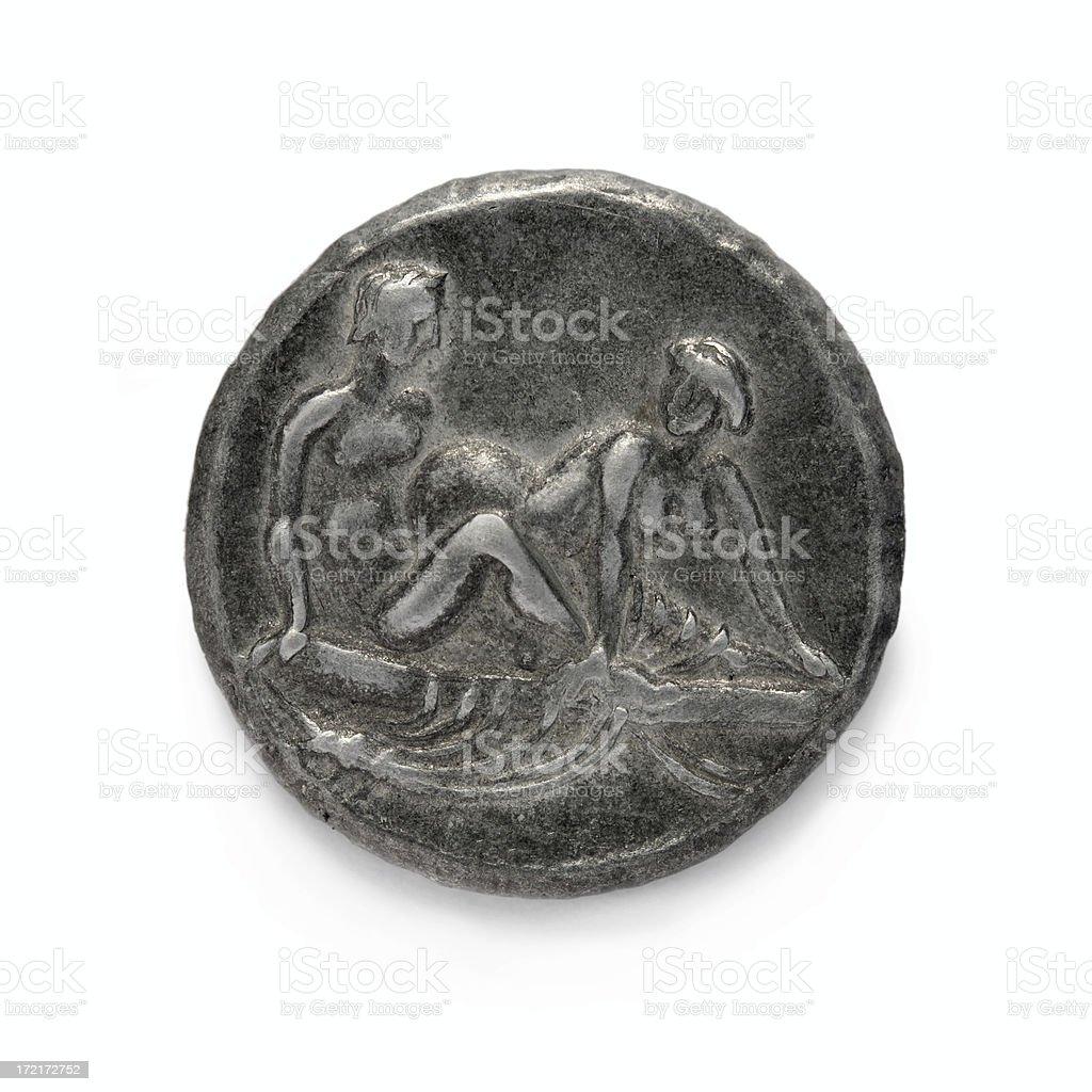 Roman Erotic Token royalty-free stock photo