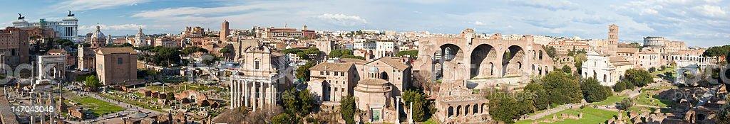 Roman Forum - Rome stock photo