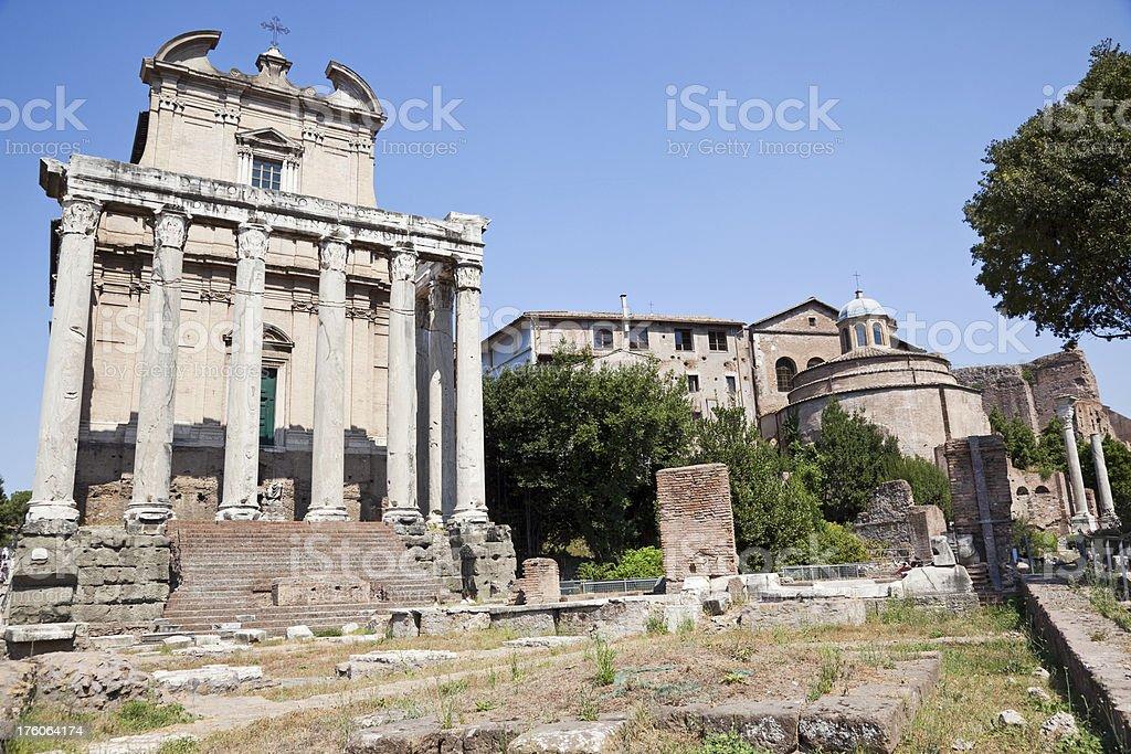 Roman forum # 5 XXXL royalty-free stock photo
