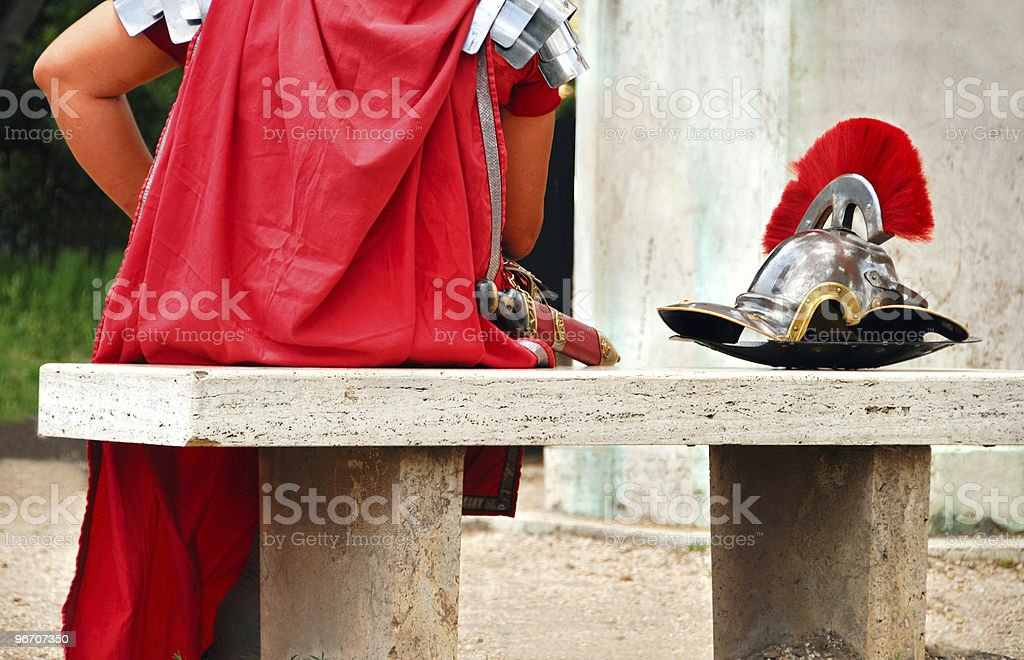 roman gladiator royalty-free stock photo