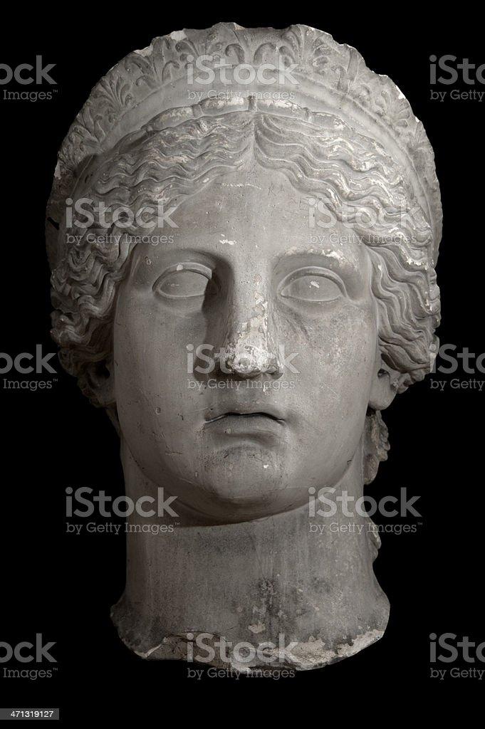 Roman Godess, Juno royalty-free stock photo