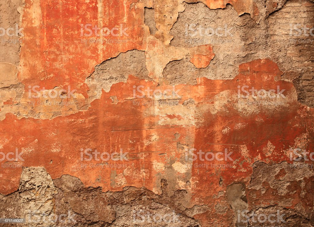 Roman grunge wall texture royalty-free stock photo