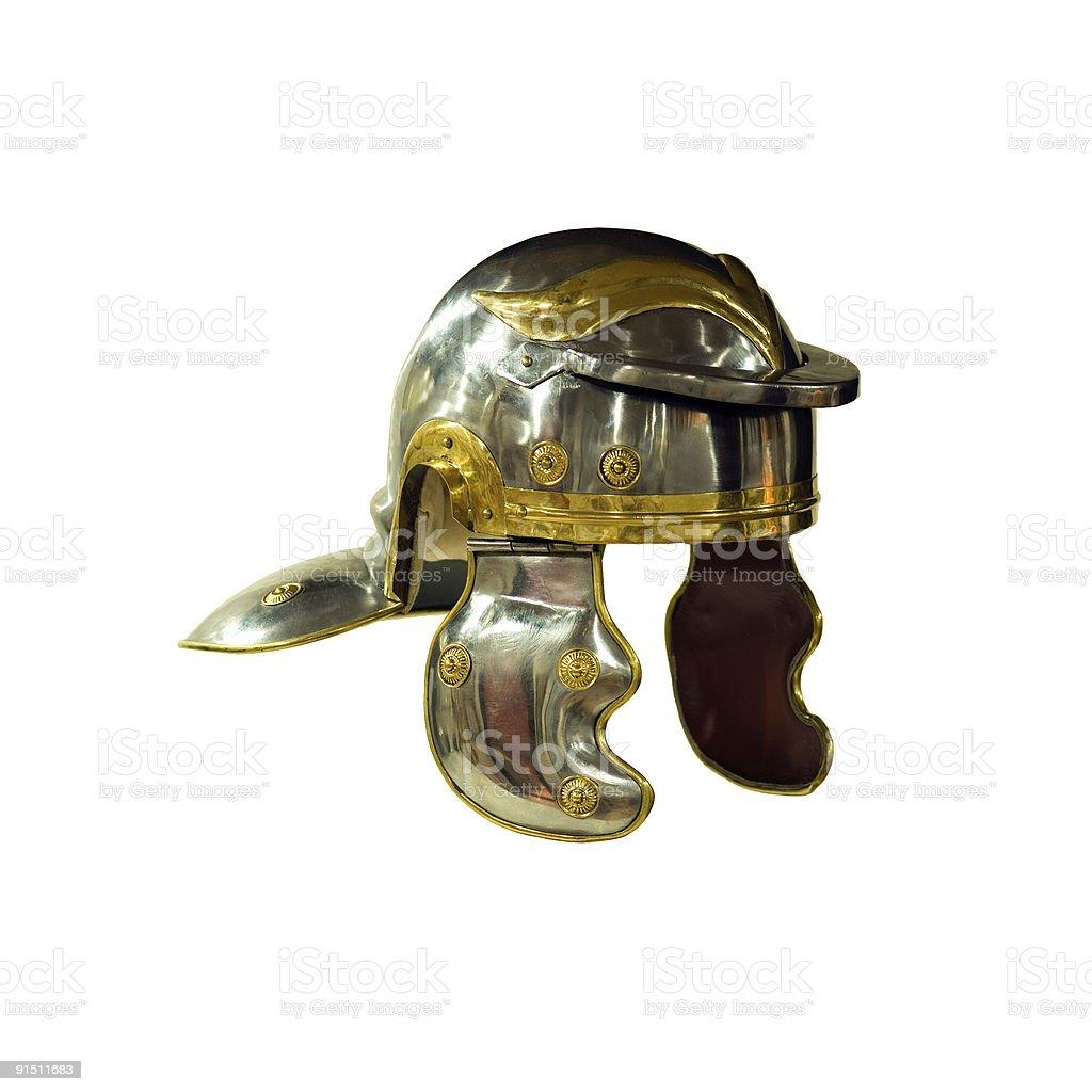 Roman helmet royalty-free stock photo