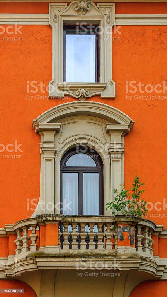 Römisches Haus Fassade Lizenzfreies stock-foto