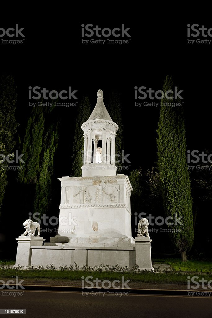 Roman Mausoleum of Aquileia royalty-free stock photo