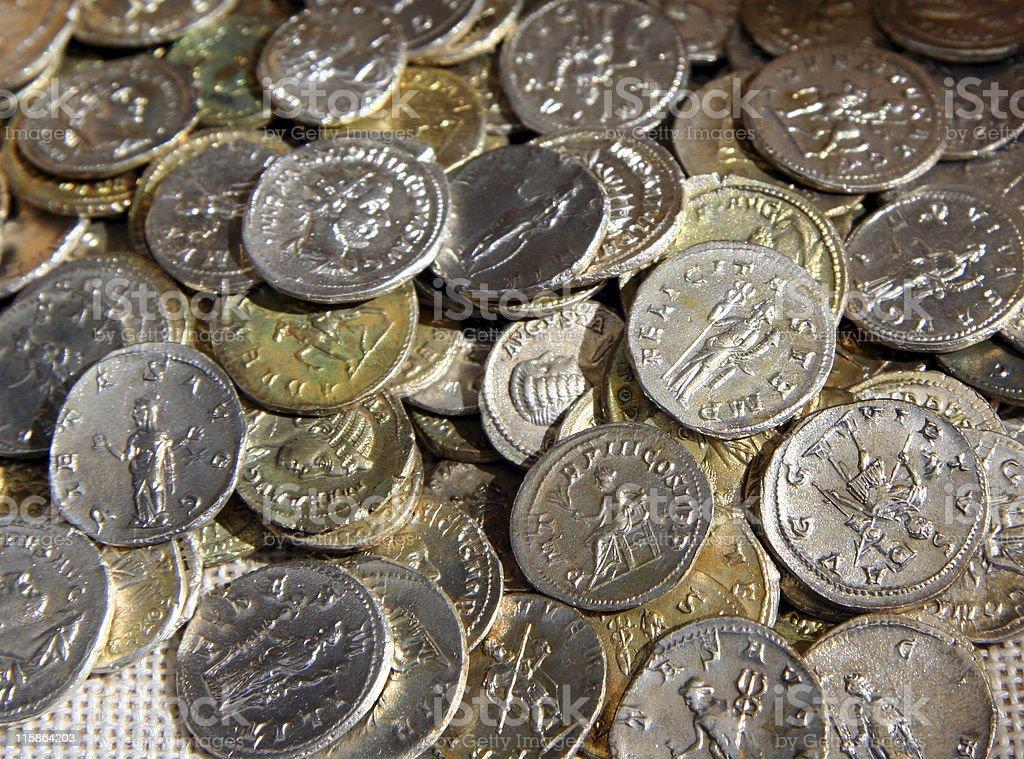 Roman Mintage royalty-free stock photo