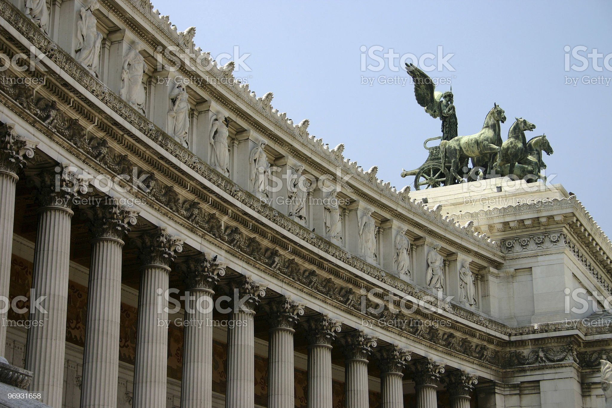 Roman monument royalty-free stock photo