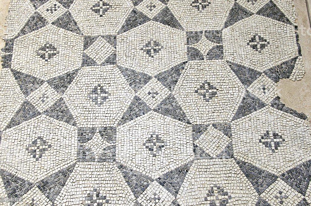 Roman Mosaics royalty-free stock photo