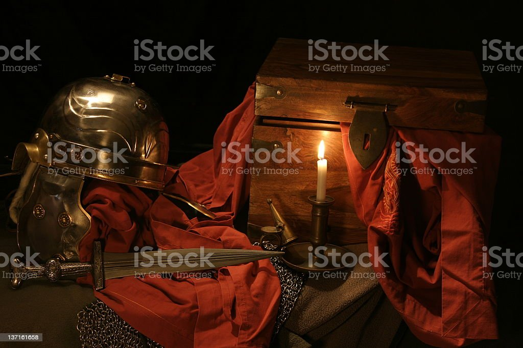 Roman objects 1 royalty-free stock photo