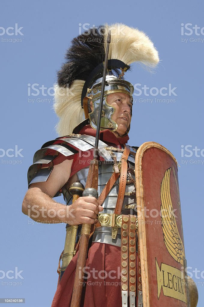 Roman Optio royalty-free stock photo