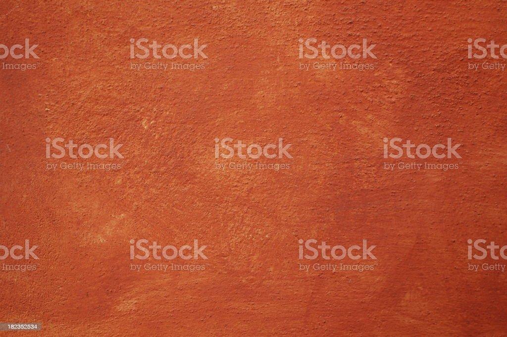 Roman painted wall texture stock photo