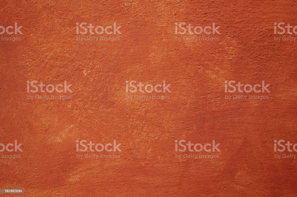 Roman painted wall texture stock photo