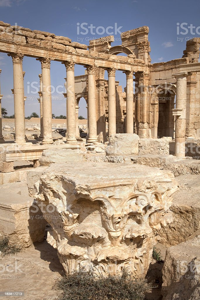Roman royalty-free stock photo
