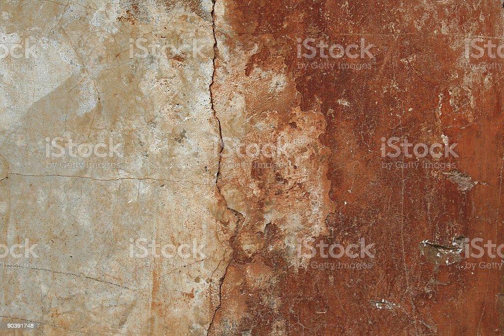 Roman red white grunge wall royalty-free stock photo