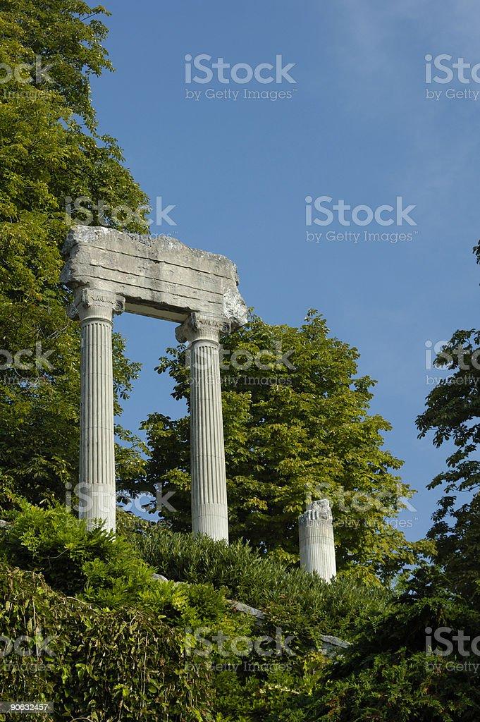 Roman remains royalty-free stock photo