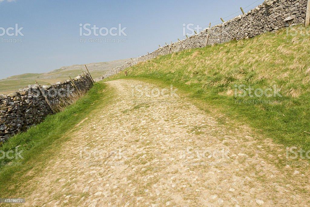 roman road stock photo