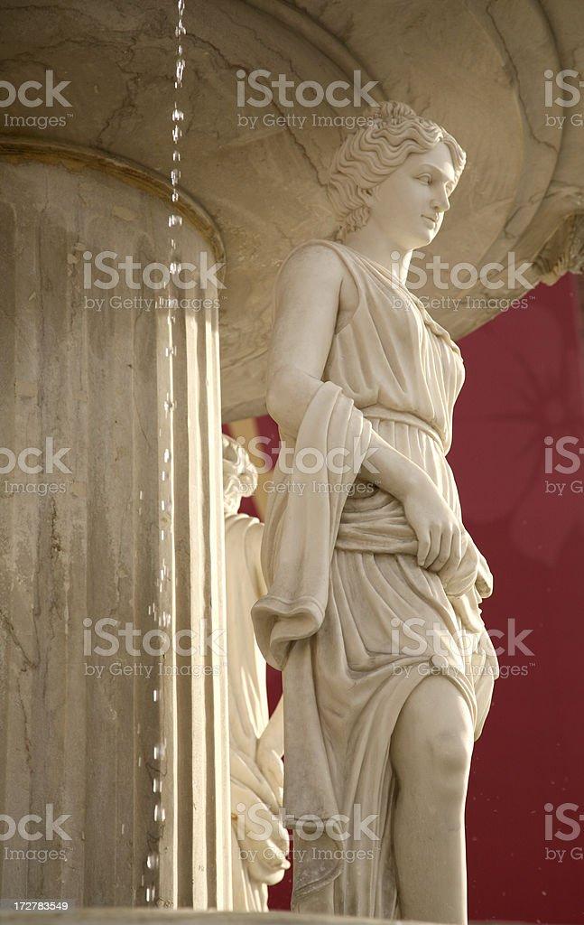 Roman Sculpture (woman) royalty-free stock photo