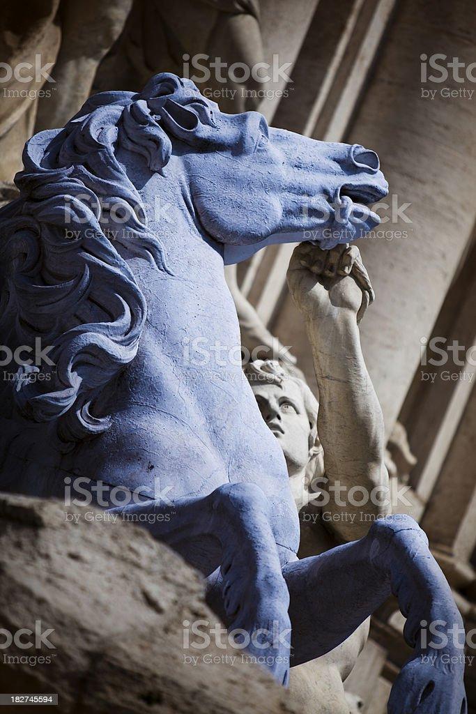 Roman sculpture stock photo