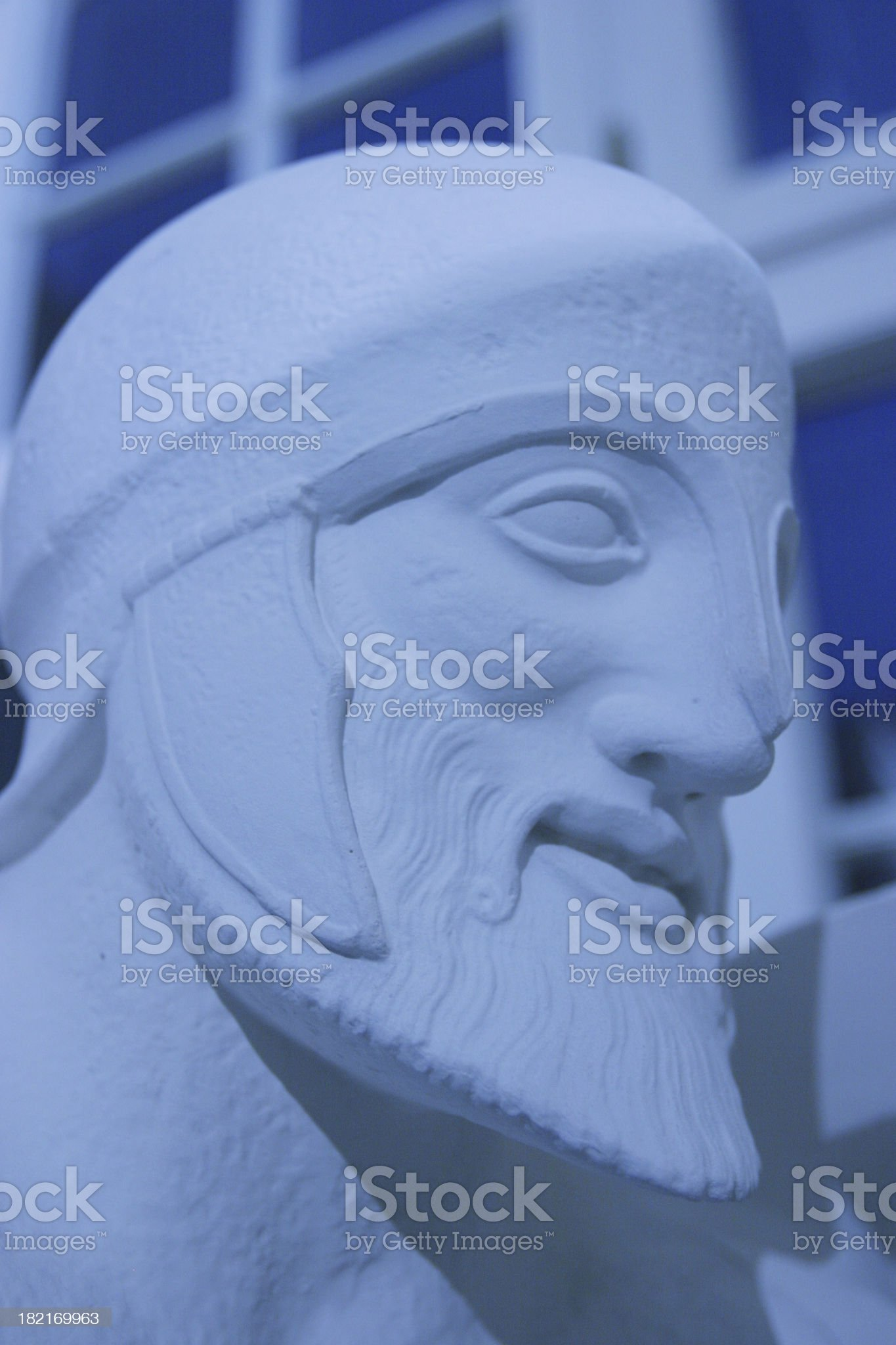 Roman soldier royalty-free stock photo
