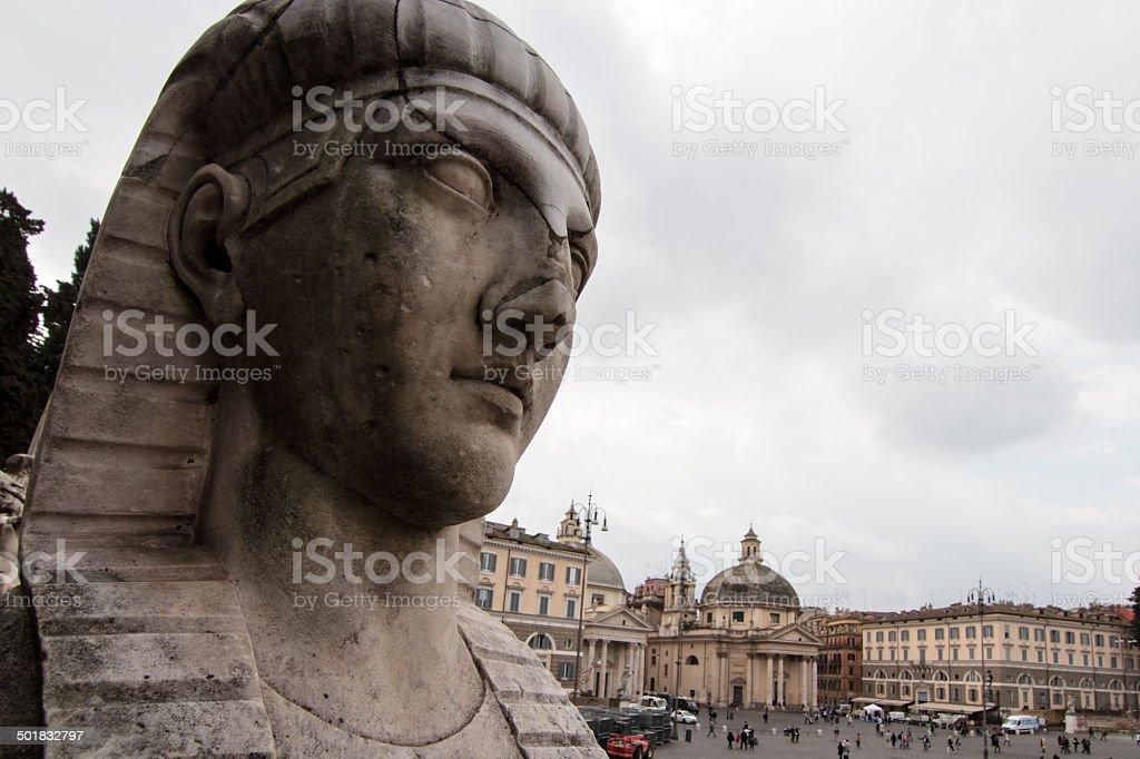 Roman Sphinx Lizenzfreies stock-foto