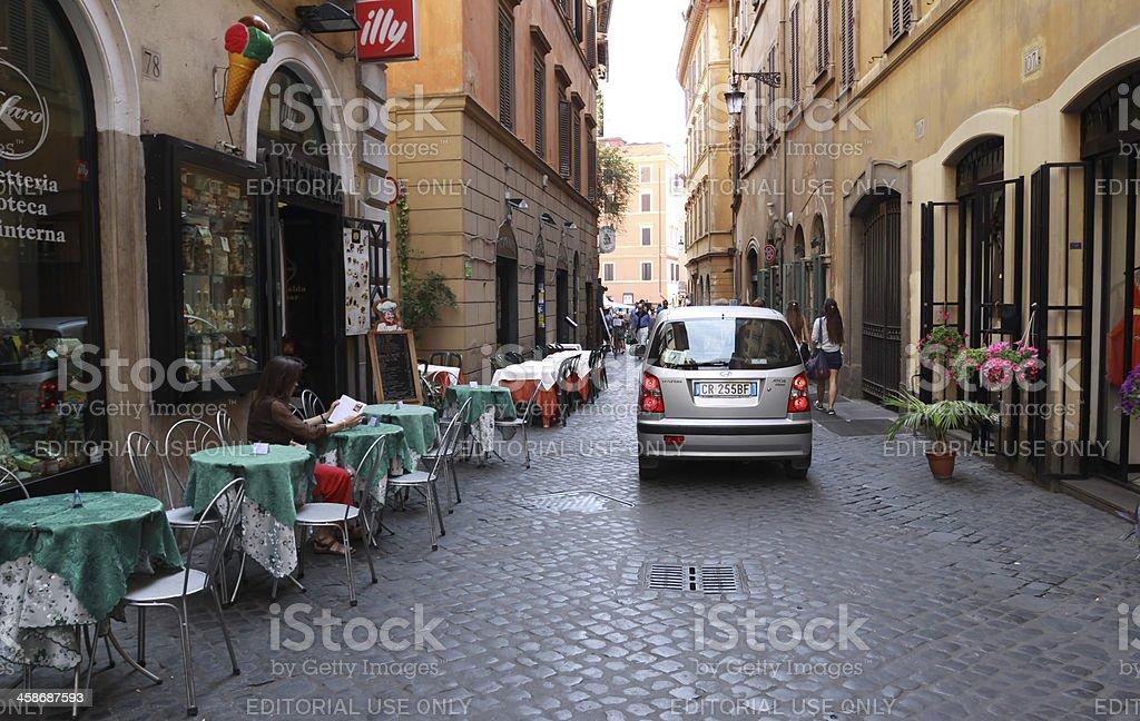 Roman Street Scene. royalty-free stock photo