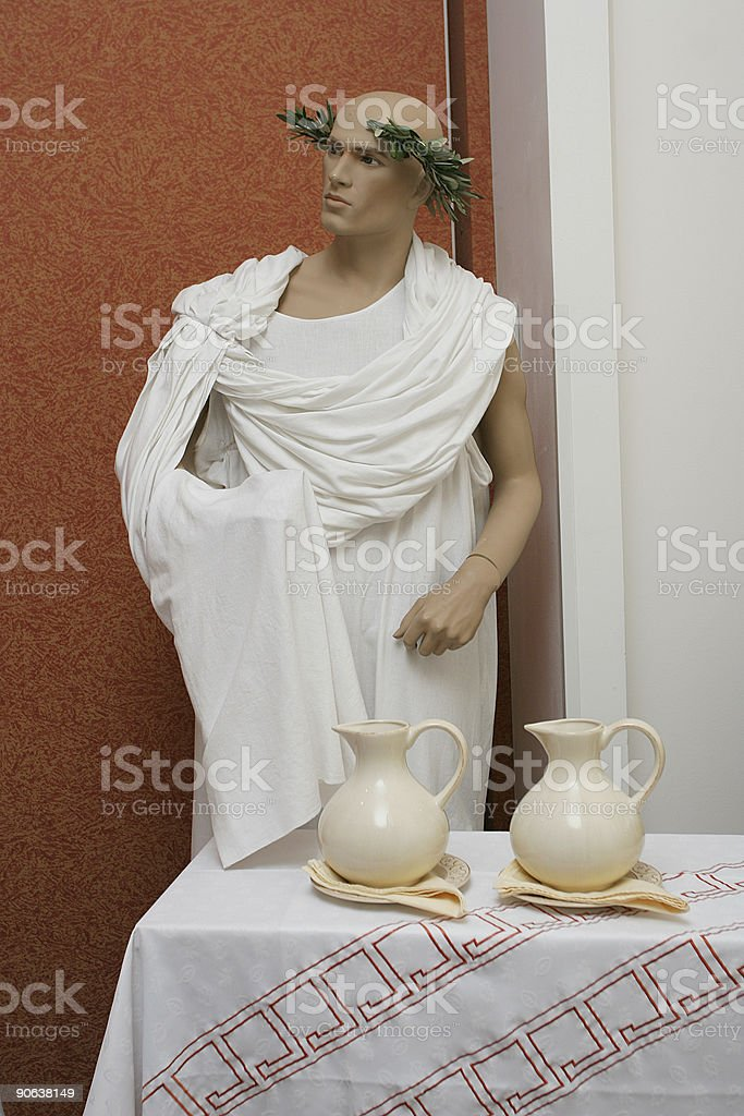 Roman style royalty-free stock photo
