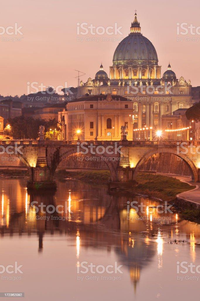 Roman Sunset royalty-free stock photo