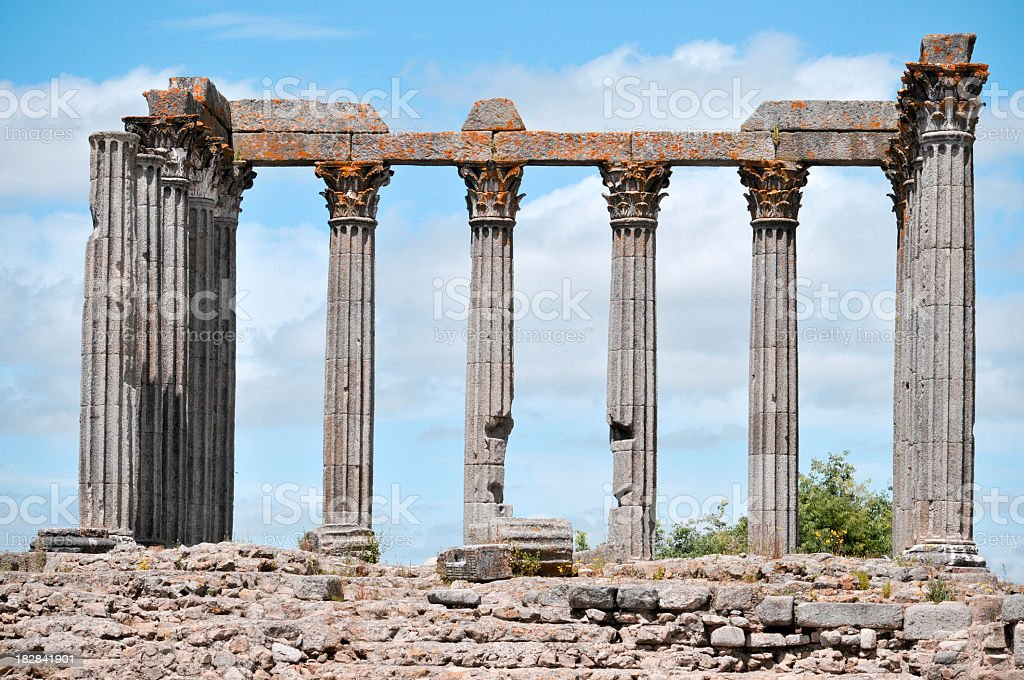 Templo Romano royalty-free stock photo