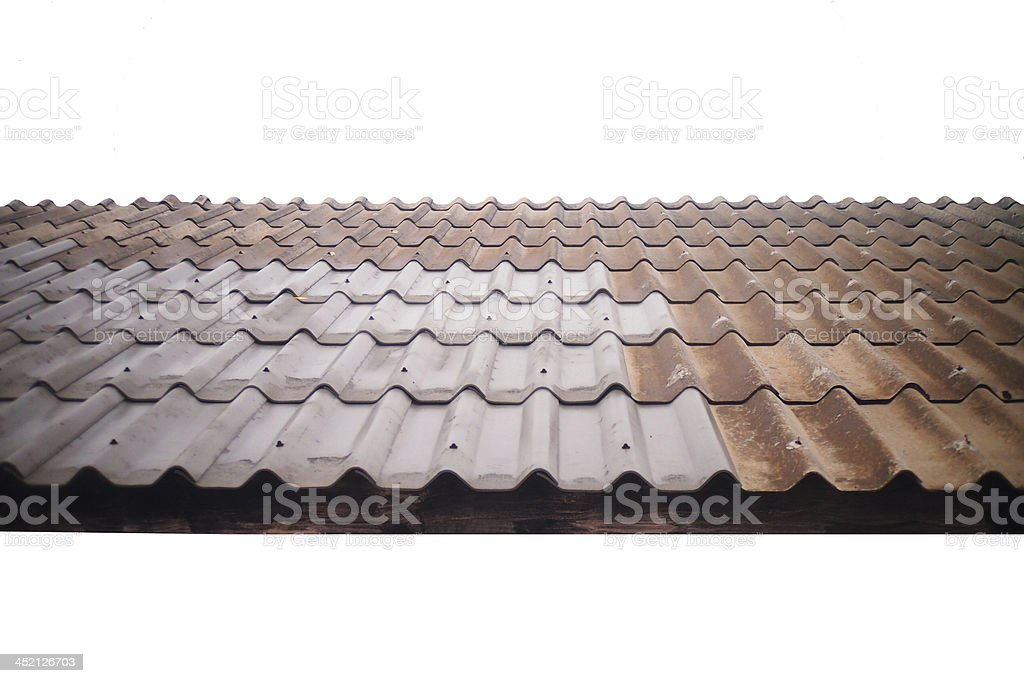 Roman tile. stock photo