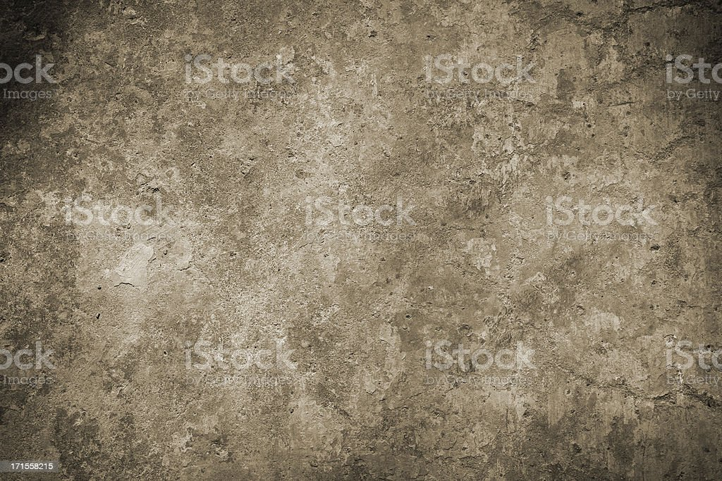 Roman wall background in sepia, Rome Italy royalty-free stock photo