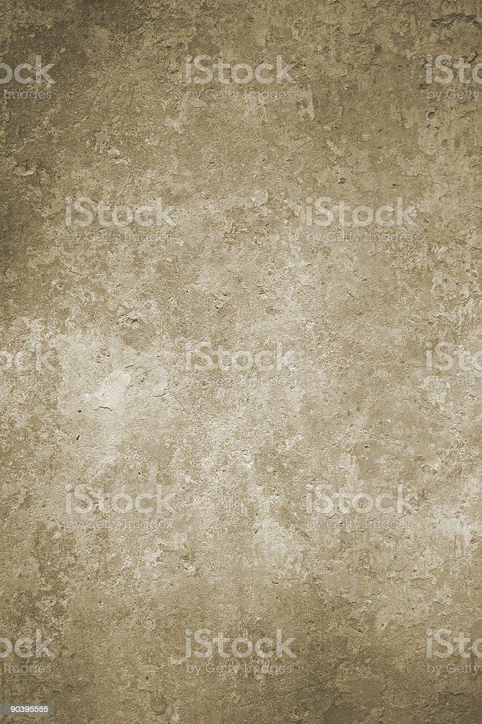 Roman Wall in sepia royalty-free stock photo