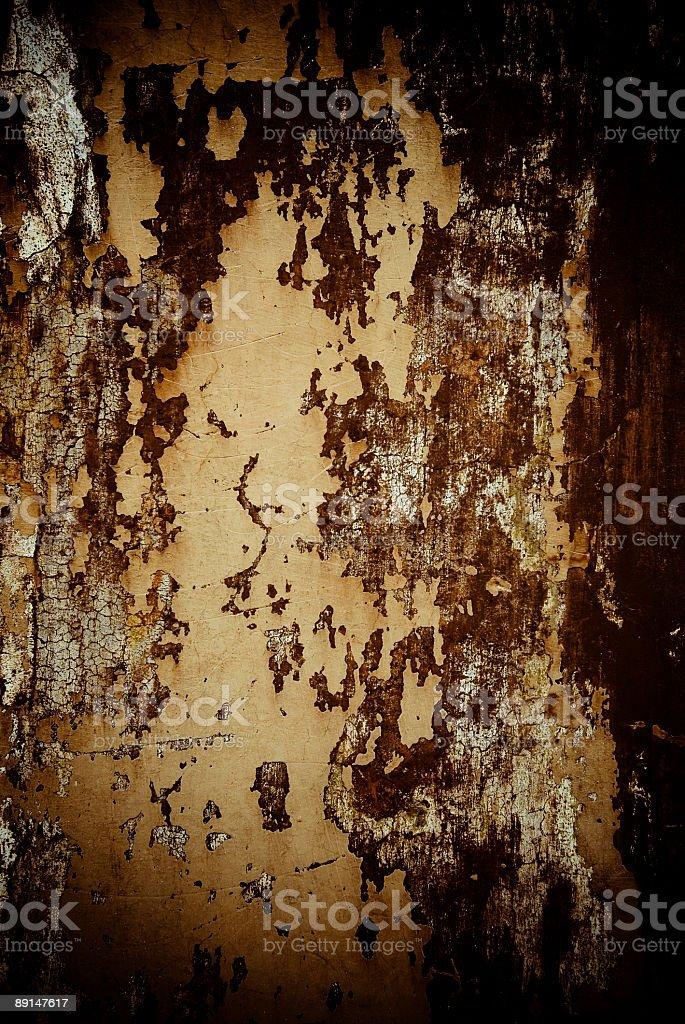 roman wall sepia royalty-free stock photo