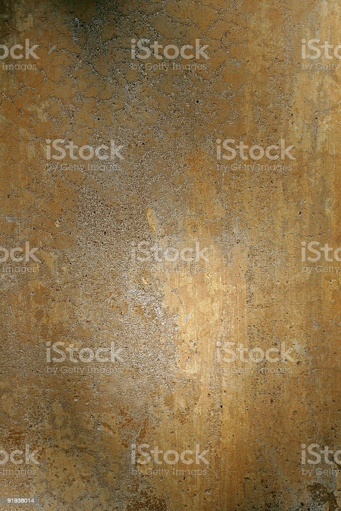 Roman wall with soft shadows royalty-free stock photo