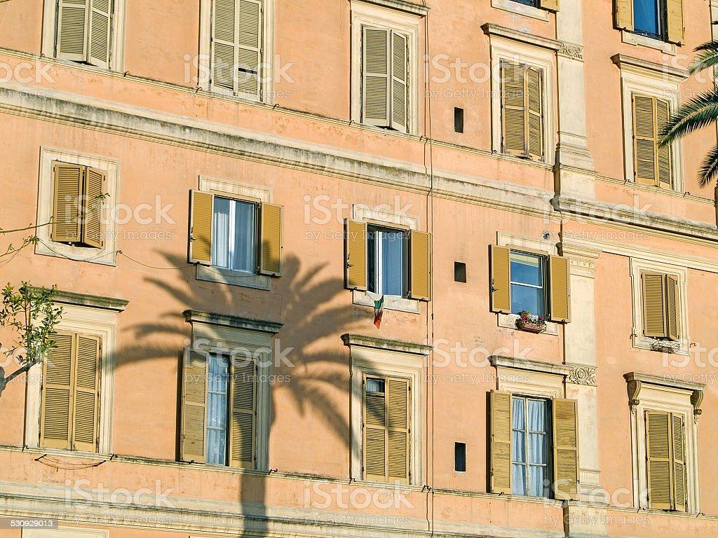 Roman Windows stock photo