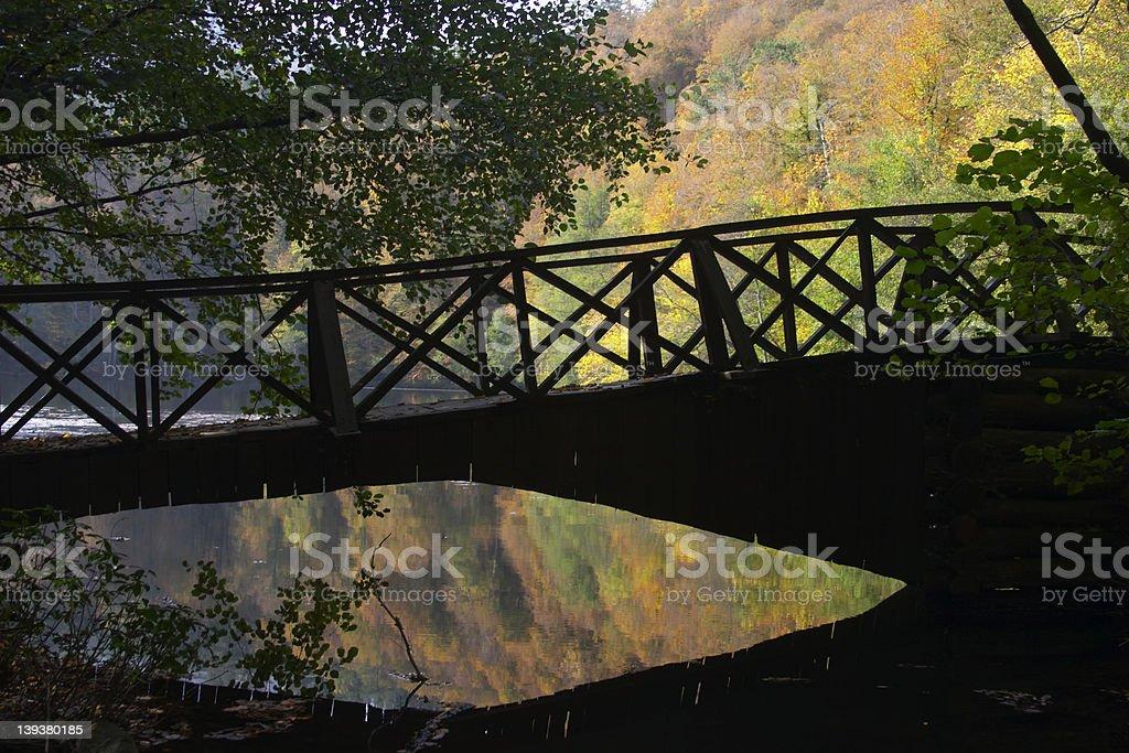 Romance Bridge royalty-free stock photo