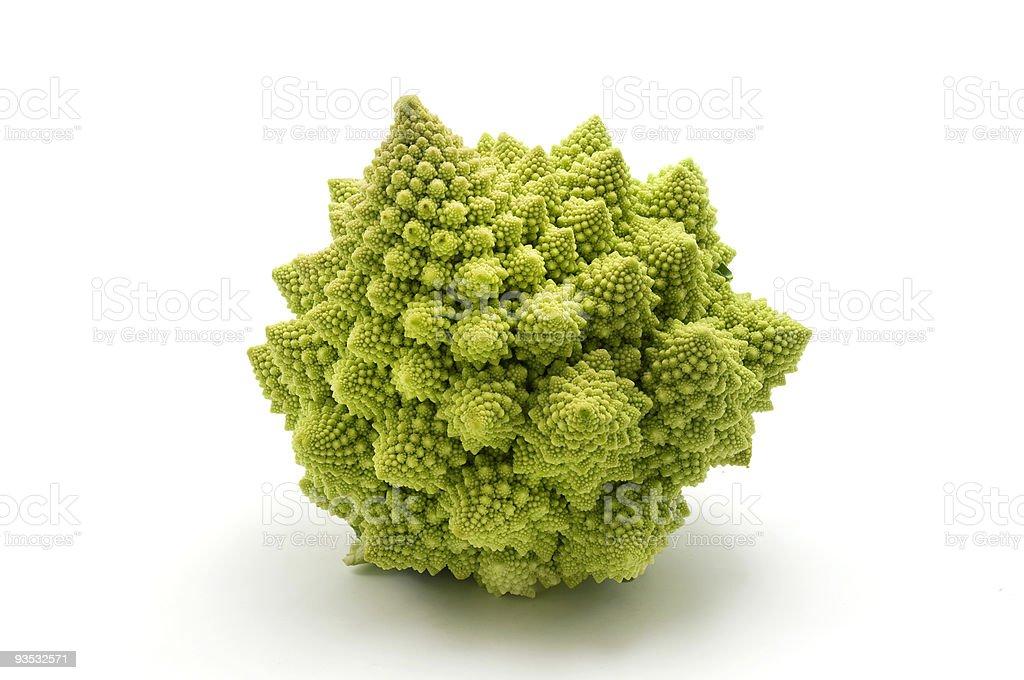 Romanesco broccoli royalty-free stock photo