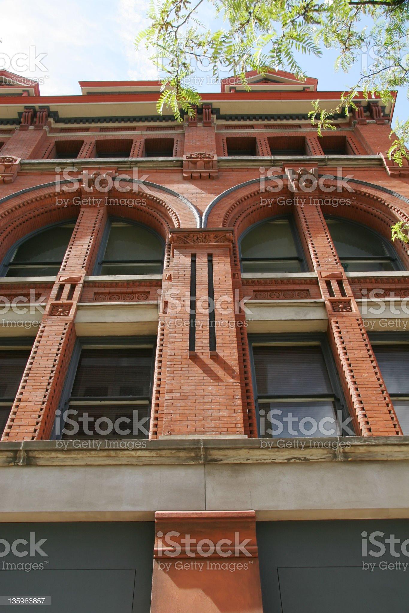 Romanesque Architecture A, Dayton, Ohio royalty-free stock photo